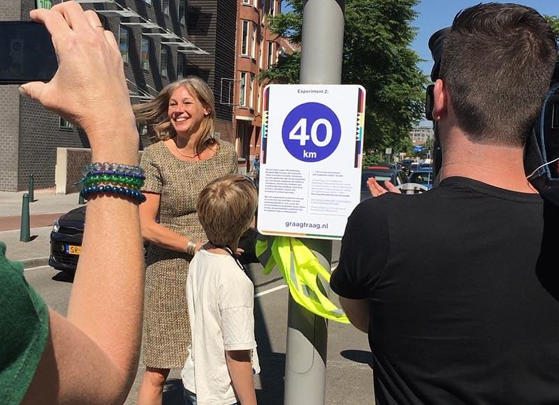 graagtraag.nl   Opening experiment 2 door wethouder Bokhove